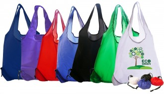 Foldable Polyester Shopper Bag