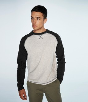 Front Row Long Sleeve Baseball T-Shirt