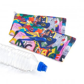 RPET Cosmetic and Toiletry Pencil Case Style Purse