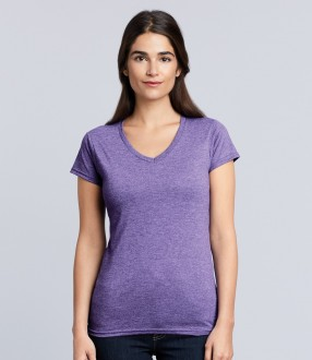 Gildan SoftStyle® Ladies V Neck T-Shirt