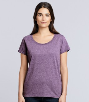 Gildan Ladies SoftStyle® Deep Scoop T-Shirt