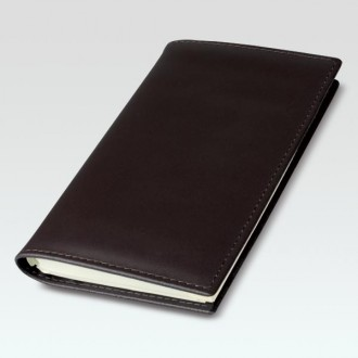 Spirolux Pocket Oxford Leather Diary Cover with Congressman Diary Insert