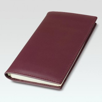 Spirolux Pocket Oxford Leather Diary Cover with Senator Diary Insert