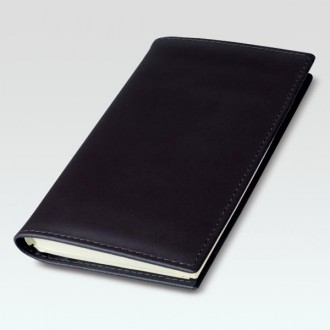 Spirolux Pocket Oxford Leather Diary Cover with Diplomat Diary Insert