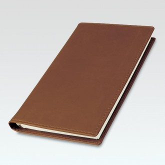 Spirolux Pocket Brandhide Diary Cover with Senator Diary Insert