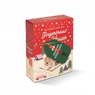 Gingerbread House Box - Decoration Kit