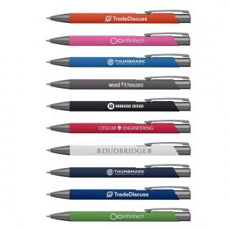 Crosby Gunmetal Trim Pen