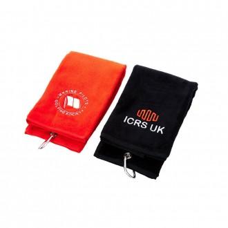 Tri-Fold Velour Golf Towel