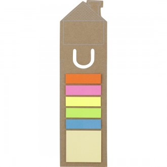 House Shaped Bookmark and Sticky Notes