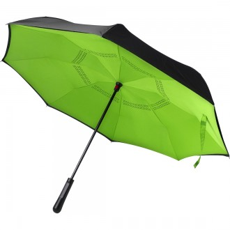 Reversible Twin-Layer Umbrella