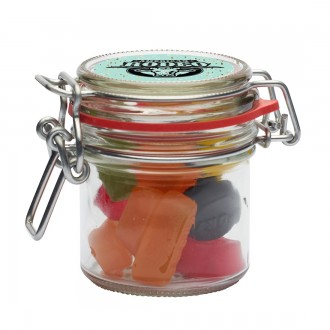 255ml Glass Jar with Choice of Sweets