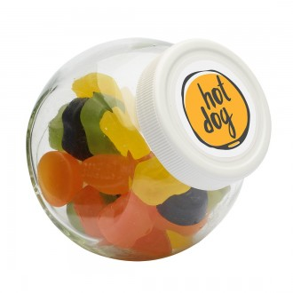 Candy Jar 395ml with Choice of Sweets