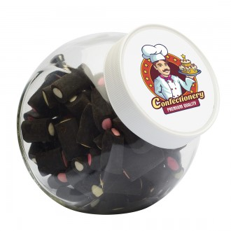 Candy Jar 870ml with Choice of Sweets