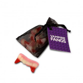Vampire Fangs Organza Bag Sweets