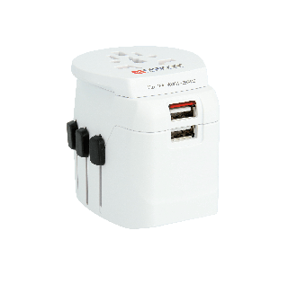 SKROSS® Pro Light USB Travel Adapter