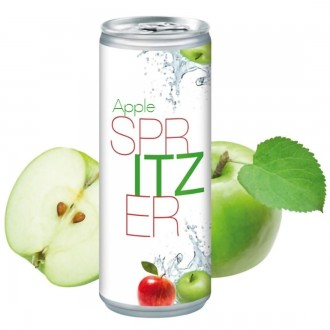Apple Spritzer Canned Drink