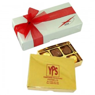 Luxury Chocolate Box - 6 Chocolate Box Assortment - Rectangle