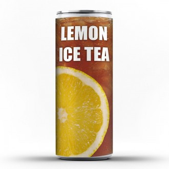 Lemon Ice Tea Can
