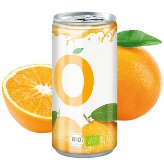 Natural Orange Juice Can