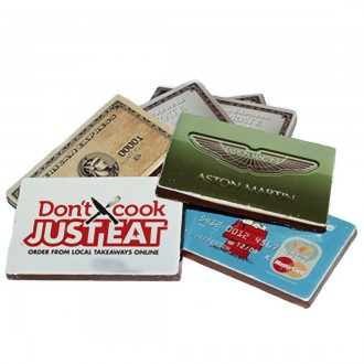 Promotional Chocolate Bar Business Cards