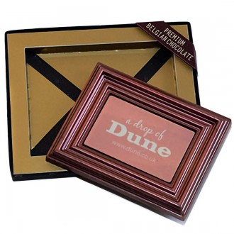 Promotional Chocolate Bar Business Cards in Frame