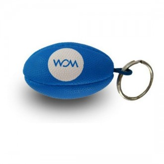 Rugby Ball Key Ring