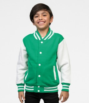AWDis Kids Varsity Jacket