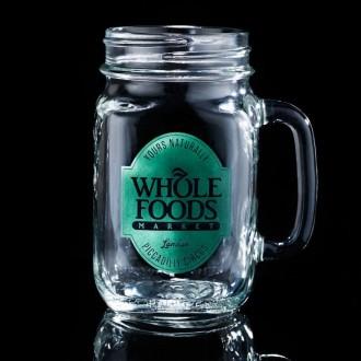 Tennessee Handled Drinking Jar