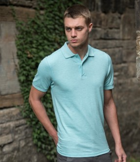 AWDis Surf Melange Pique Polo Shirt