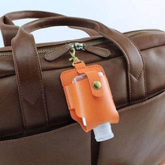 Hand Sanitiser Pouch with Clip
