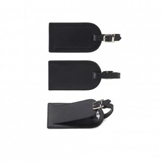 Sandringham Nappa Leather Luggage Tag