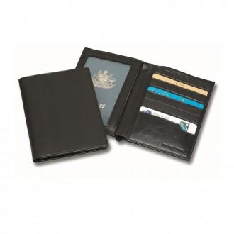Sandringham Nappa Leather Deluxe Passport Wallet