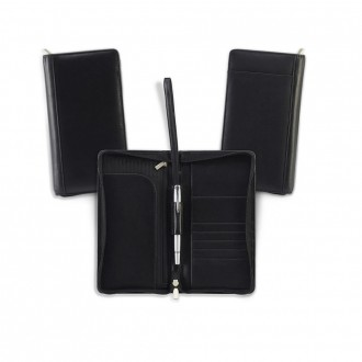 Sandringham Nappa Leather Zipped Travel Wallet