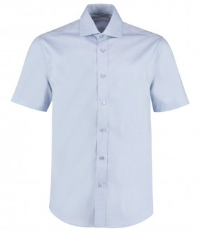 Kustom Kit Premium Short Sleeve Classic Fit Oxford Shirt