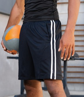 Gamegear® Cooltex® Contrast Mesh Lined Sports Shorts