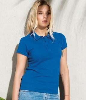 Kariban Ladies Organic Pique Polo Shirt