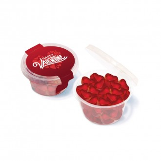 Maxi Eco Pot - Kalfany Fruit Gum Hearts