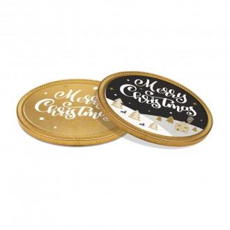 Chocolate Medallion - 100mm