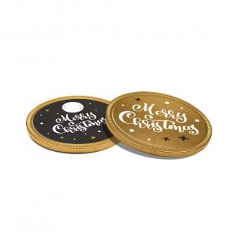 Chocolate Medallion - 75mm