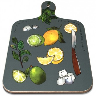 Melamine Chopping Board With Handle