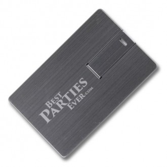 Promotional USB Cards - Metal