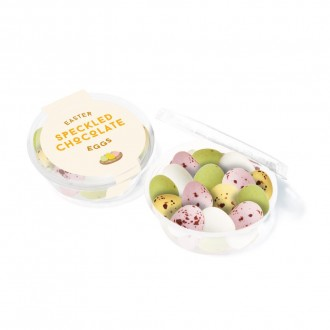Eco Midi Pot - Speckled Eggs - Easter