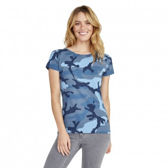 SOL'S Ladies Camo T-Shirt