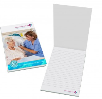 Smart-Pad A6 Notepad - Antibacterial Laminated Cover