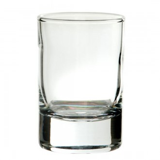 Round Tot Glass