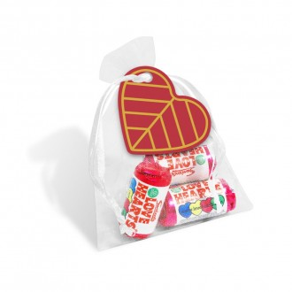 Organza Bag - Love Heart Sweets - Valentine's Day