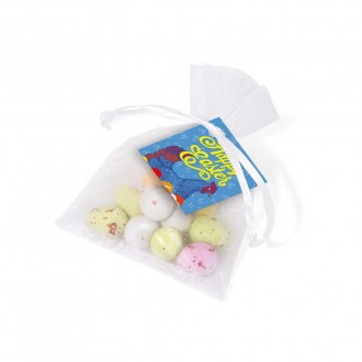 Organza Bag - Speckled Eggs