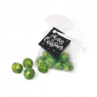 Organza Bag - Chocolate Sprouts