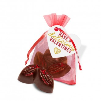 Organza Bag - Cocoa Bean Truffles - Valentine's Day