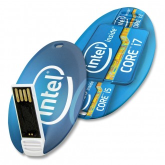 USB Card Oval